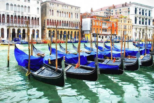 Wall Art - Photograph - Grand Canal In Venice by Mel Steinhauer