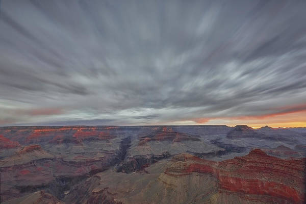 Wall Art - Photograph - Grand Canyon In Motion by Jon Glaser