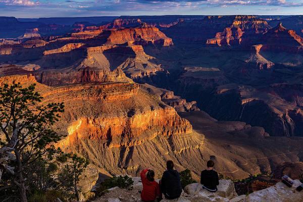 Desert View Tower Photograph - Grand Canyon Sunrise by Jon Berghoff