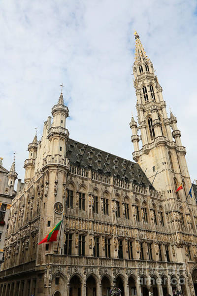 Photograph - Grand Place Perspective by Carol Groenen