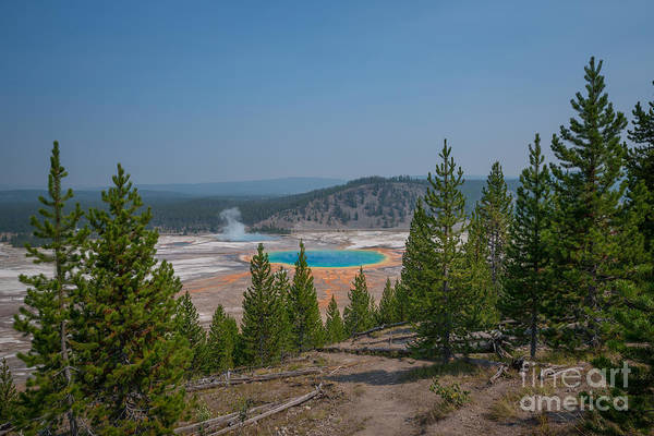 Prismatic Wall Art - Photograph - Grand Prismatic Spring  by Michael Ver Sprill