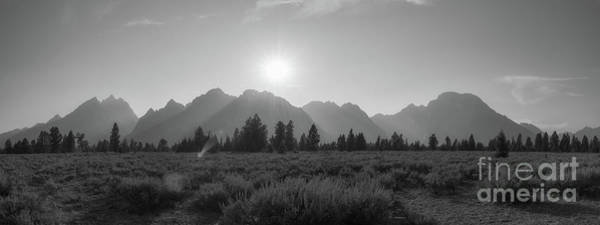 Wall Art - Photograph - Grand Teton National Park Sun Burst by Michael Ver Sprill