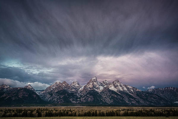 Schwabacher Photograph - Grand Teton Range by Robert Fawcett