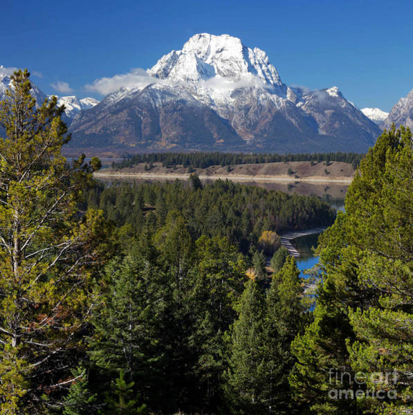 Jackson Hole Wall Art - Photograph - Grand Teton by Twenty Two North Photography