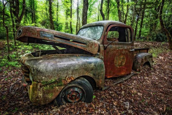 Grandpa Photograph - Grandpas Old Truck by Debra and Dave Vanderlaan