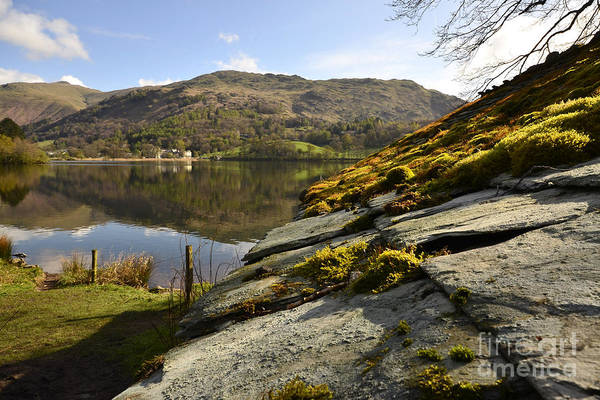 District Wall Art - Photograph - Grasmere by Smart Aviation