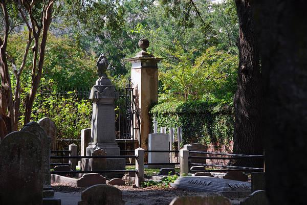 Church Yard Wall Art - Photograph - Graveyard In Charleston by Susanne Van Hulst