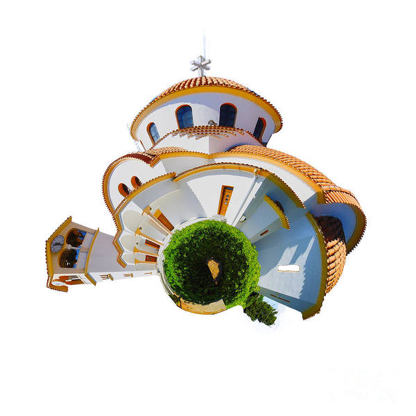 Churches Photograph - Greek Orthodox Church by Smart Aviation