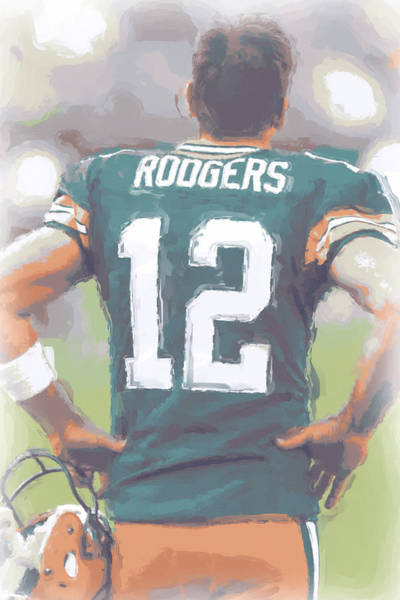 Green Bay Packers Wall Art - Photograph - Green Bay Packers Aaron Rodgers by Joe Hamilton