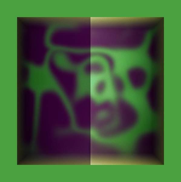 Wall Art - Digital Art - Green Color Leak by Mihaela Stancu