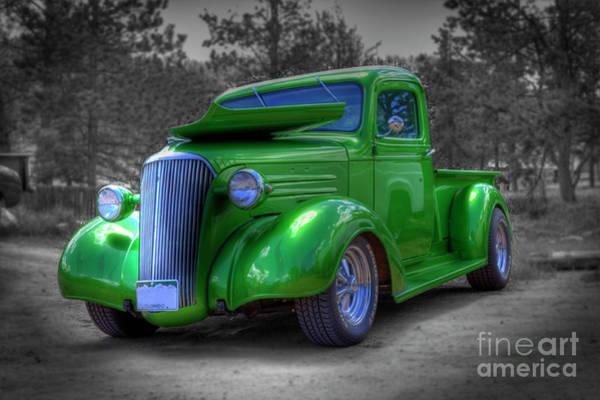 Photograph - Green Machine by Tony Baca