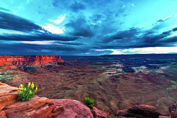 Photograph - Green River Overlook by Norman Hall