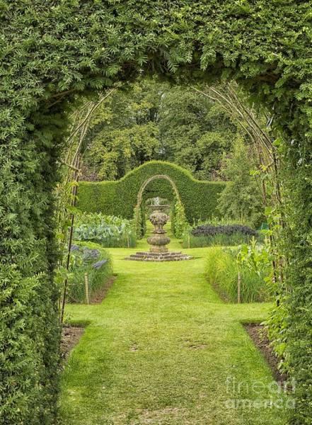 Castle Garden Photograph - Green Secret Garden by Patricia Hofmeester
