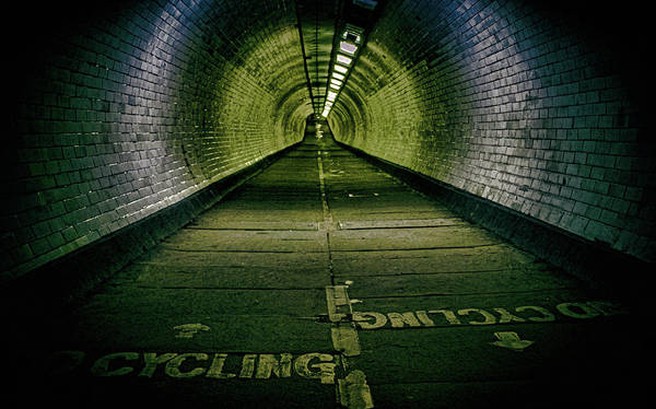 Grimy Wall Art - Photograph - Greenwich Foot Tunnel by Martin Newman