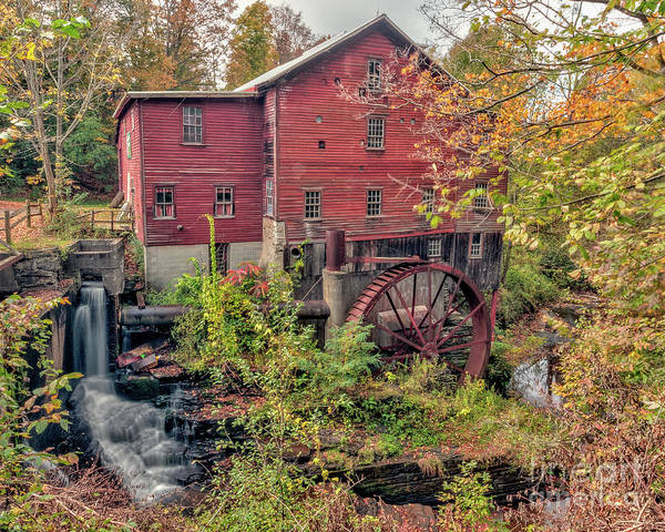 Photograph - Grist Mill II by Rod Best