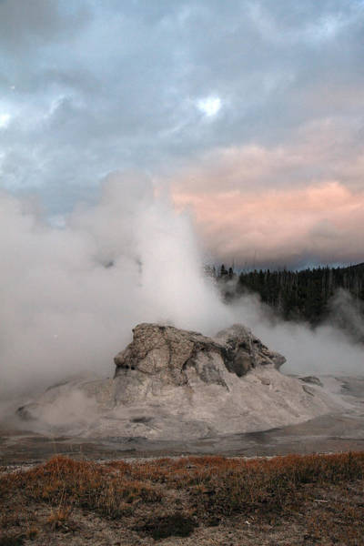 Photograph - Grotto Geyser Yellowstone by Pierre Leclerc Photography