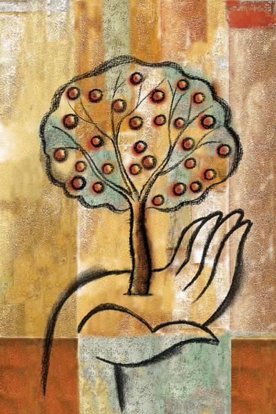 Wall Art - Painting - Growth by Leon Zernitsky