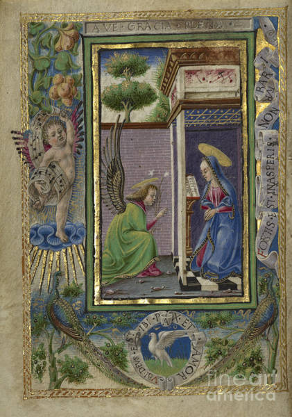 Painting - Gualenghi-d'este Hours by Celestial Images