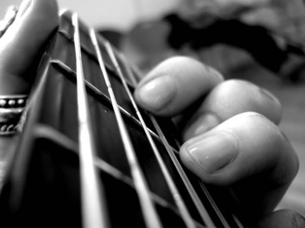 Celebrity Digital Art - Guitar by Maye Loeser