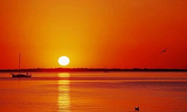 Gulf Of Mexico Sunset Art Print