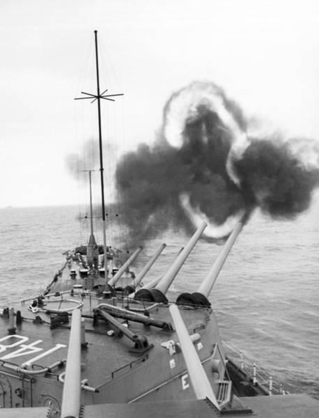Photograph - Gulf Of Tonkin Warfare by Underwood Archives