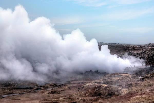 Geothermal Photograph - Gunnuhver - Iceland by Joana Kruse