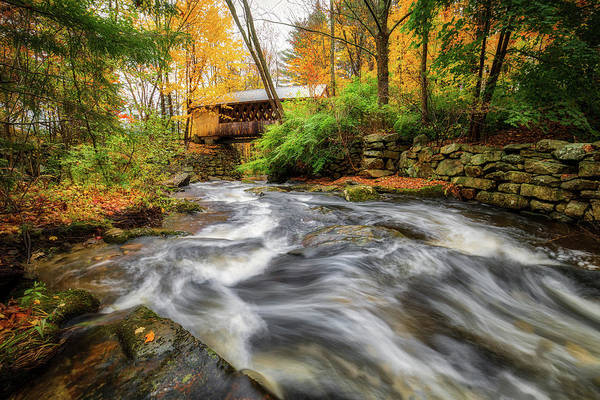 Photograph - Gunstock Brook by Robert Clifford