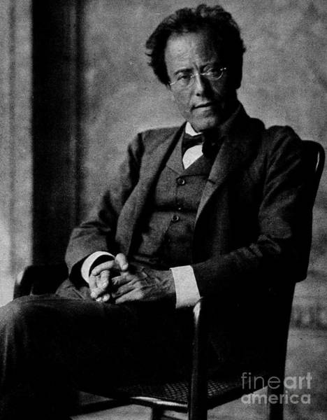 Jewish Music Wall Art - Photograph - Gustav Mahler by Austrian School