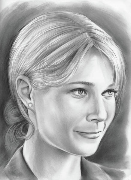 Actress Drawing - Gwyneth Paltrow by Greg Joens