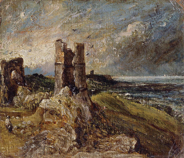 Ch Painting - Hadleigh Castle by John Constable