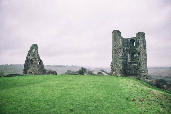 English Countryside Photograph - Hadleigh Castle by Martin Newman