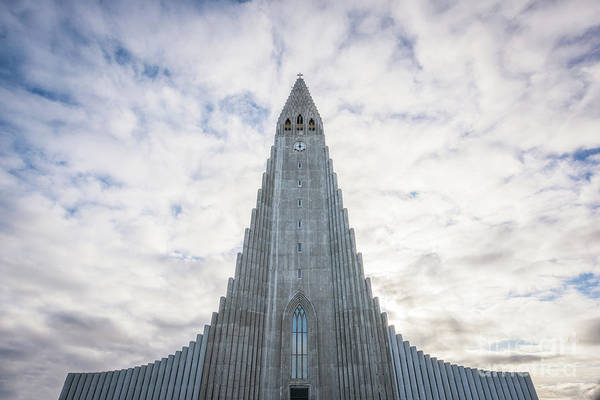 Photograph - Hallgrimskirkja by Michael Ver Sprill