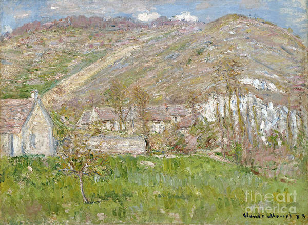 Painting - Hamlet On The Cliffs Near Giverny by Celestial Images