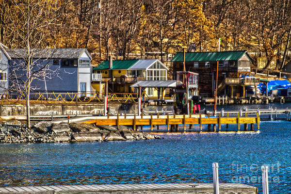 Photograph - Hammondsport Docks by William Norton
