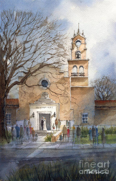 Kent Wall Art - Painting - Hance Chapel by Tim Oliver