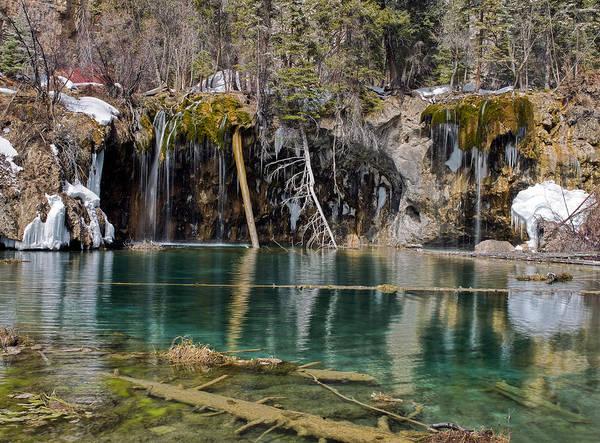 Wall Art - Photograph - Hanging Lake In Glenwood Canyon Colorado by Brendan Reals