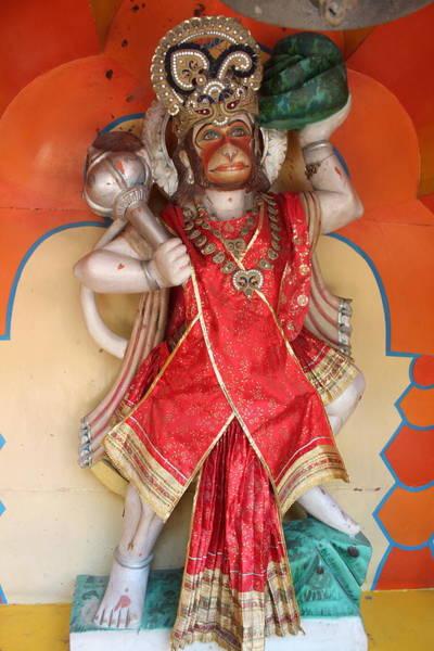 Wall Art - Photograph - Hanuman Ji, Rishikesh by Jennifer Mazzucco