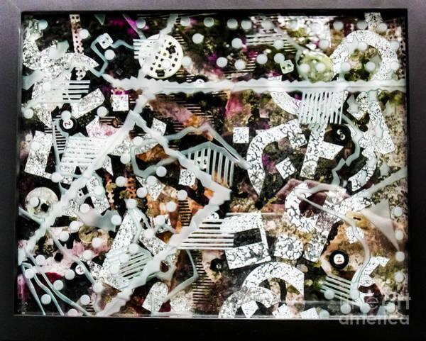 Glass Art - Shifting Layers by Alone Larsen