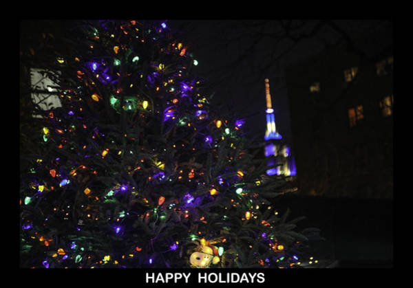 Wall Art - Photograph - Happy Holidays by Madeline Ellis