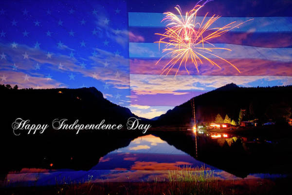 Photograph - Happy Independence Day by James BO Insogna