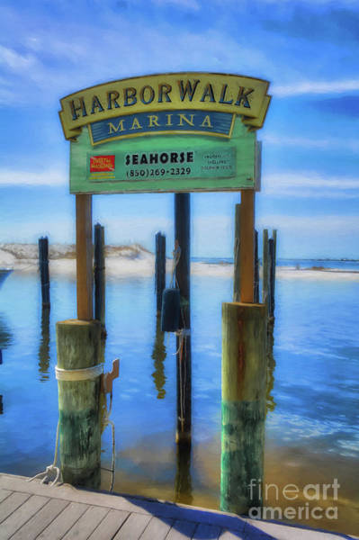 Photograph - Harbor Walk At Destin Florida # 3 by Mel Steinhauer