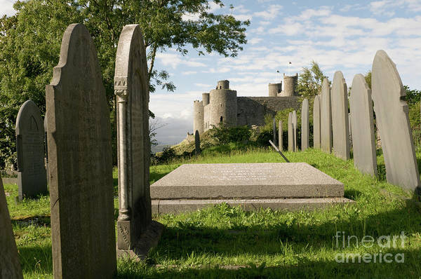 Photograph - Harlech Castle, Snowdonia, Gwynedd, North Wales, Uk by Keith Morris