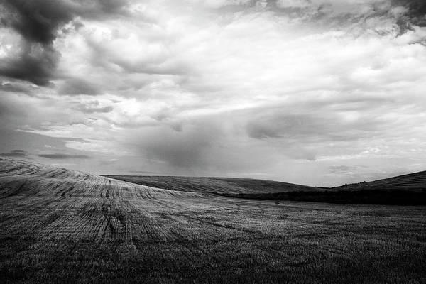 Photograph - Harvested Wheat Field by Fabrizio Troiani