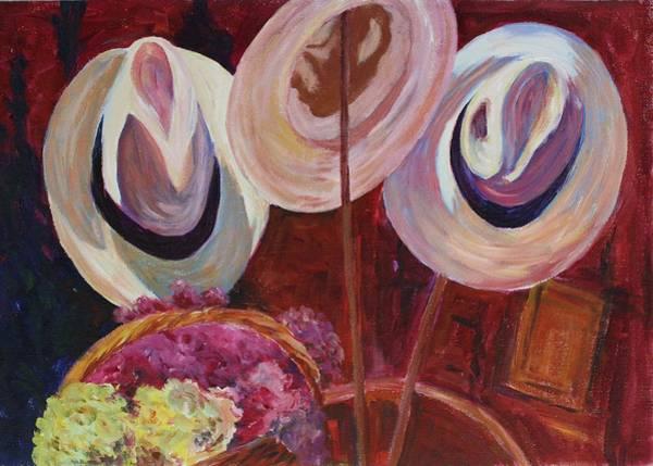 Painting - Hat Attack by Tara Moorman