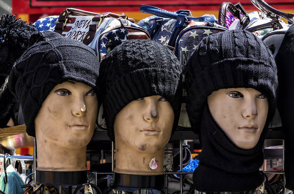 Hats For Sale Photograph - Hats For Sale by Robert Ullmann