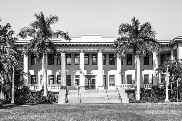 Photograph - University Of Hawaii Hawaii Hall by University Icons