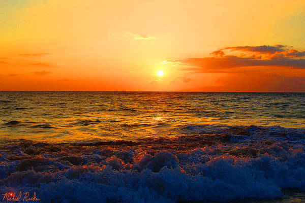Ocean Wall Art - Photograph - Hawaiian Sunset by Michael Rucker