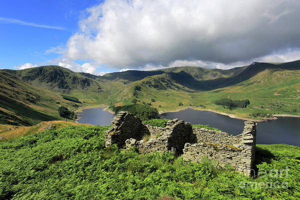 Haweswater Wall Art - Photograph - Haweswater Reservoir, Mardale Valley, Lake Dist by Dave Porter