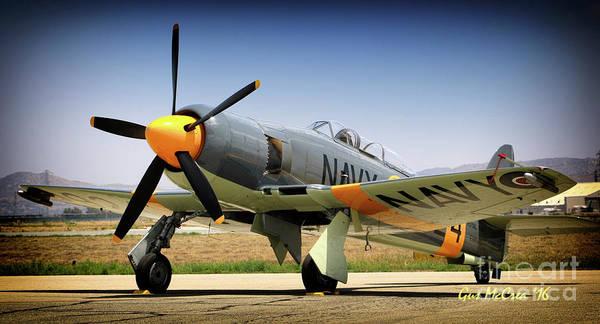 Hawker Sea Fury Photograph - Hawker Sea Fury Argonaut by Gus McCrea