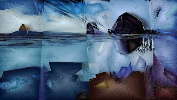 Wall Art - Digital Art - Haystack In The Distance by Jon Glaser